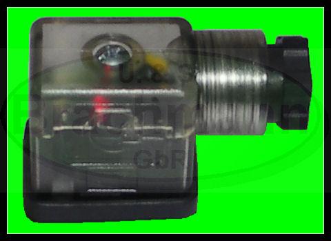 Geraetestecker-Stecker-Ventilstecker-S1-LED-Beleuchtung-Bauform-B-21x28mm